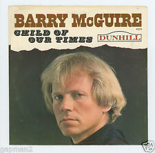 Barry McGuire 1965 Dunhill 45rpm Child Of Our Times b/w Painted Ocean P.F. Sloan