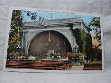 ROCHESTER MN Minnesota Band Stand in City Park early 1900's Postcard