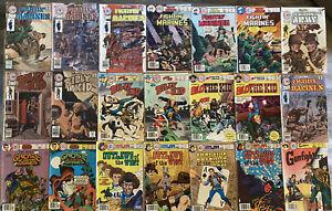 CHARLTON COMIC LOT 83 BOOKS 1968-1980 GRADES VARY