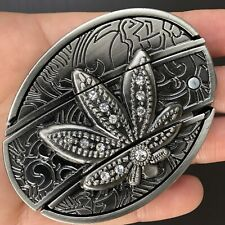 Belt Buckle Rodeo Western Silver High Quality Cowboy