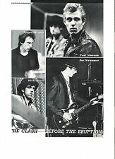 CLASH in the studio Japanese magazine PHOTO/Clipping 10x7 inches