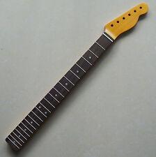 Vintage Canadian Maple/Rosewood Fender TELE Guitar Necks 21 Frets Nitro Finish