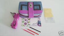 Sacoche T-Jean BAG + 6 Accessoires Violet Compatible NINTENDO New 3Ds
