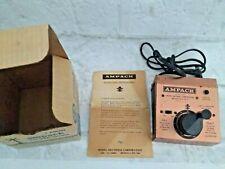 Vintage Ampack HO Hobby Transformer Controler 402 MRC Box Instruction Manual