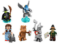LEGO The Wizard of Oz lot of 5 Figures NEW