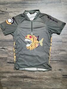 """Missy """"The Misstle"""" Giove Cannondale Jersey, large, Vintage, Amazingly Awesome"""
