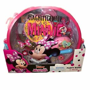 Disney Junior Minnie Mouse Party Band 10 Piece Set Musical Instruments Age 3+