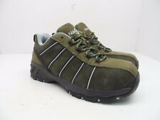 Nautilus Safety Footwear Women's N1758 Composite Toe Work Shoe Olive Size 6.5W