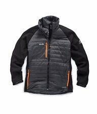 Scruffs Expedition Thermo Softshell Jacket Grey & Black Thermal (Sizes S-XXL)