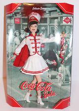 "NEW Mattel Barbie Coca Cola Majorette Collectors Edition Barbie 13"" Doll MIB"