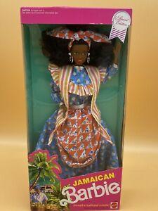 Mattel 1991 Dolls of the World Jamaican Barbie 4647, NIB