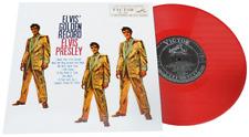 """ELVIS - GOLDEN RECORDS - RED VINYL 10"""" - LTD ED. JAPANESE RE-ISSUE"""