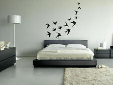 Wall Vinyl Sticker Bedroom Birds Wings Sky nursery decor kids cute nature bo2862