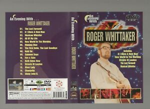DVD - AN EVENING WITH ROGER WHITTAKER - IF I WERE A RICH MAN  LAST FAREWELL PAL