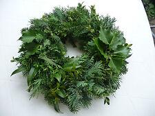 weihnachts adventskranz aus echte pflanzen g nstig kaufen ebay. Black Bedroom Furniture Sets. Home Design Ideas