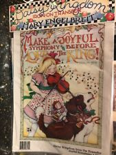 Daisy Kingdom Joyful Symphony Iron-on Transfer Mary Engelbreit Christmas
