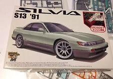 1/24 Aoshima The Best Car Gt No.79 '91 S13 Silvia With SR20DET