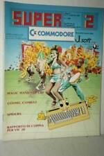 RIVISTA SUPER COMMODORE ANNO 2 NUMERO 2 FEBBRAIO 1985 USATA ED ITA FR1 54722