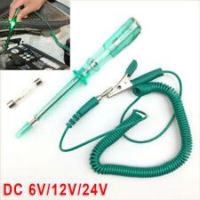 1Set Electrical Wire Circuit Tester DC 6V/12V/24V Car Lamp Voltage System Detect