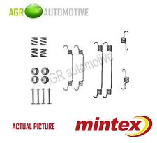 MINTEX REAR BRAKE SHOES SET FITTING KIT PIN SPRINGS GENUINE QUALITY - MBA820