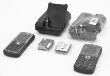 2x Motorola Ewp2100 VoWlan Handsets Smartphone w/Single Slot Desktop Charger