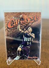 1997-98 Topps Finest - Ray Allen - Catalysts #18 Milwaukee Bucks HOF