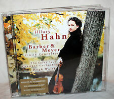 CD HILARY HAHN - Barber & Meyer Violin Concertos - St.Paul Chamber Orchestra