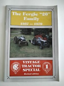 THE FERGIE 20 FAMILY 1937 1970  VINTAGE TRACTOR SPECIAL SOFT BACK BOOKLET