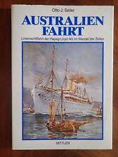 AUSTRALIEN FAHRT-HAMBURG~AMERIKA LINIE-NORDDEUTSCHER LLOYD-OTTO J.SEILER-