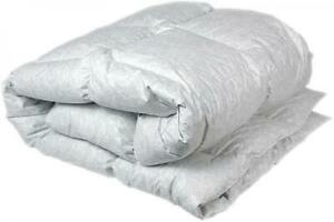 Duvet-100% natural down in a thick cotton cover