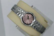 Tag Heuer Pink Alter Ego Watch Womens WAA1412.BA0760 Mint Crystal Silver SS