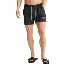 Superdry Herren Beach Volley Swim Short Schwimmhose Shorts M3010007A blau
