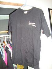Mens Vespa Jacksonville black with white logo T-Shirt Size Small S