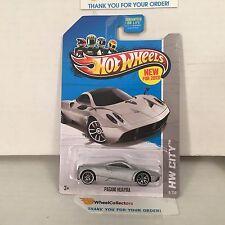 Pagani Huayra  #8 * Silver * 2013 Hot Wheels * D17