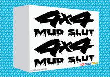 4x4 Mud Slut Decals X2 Fun Cool Truck Vinyl Decals