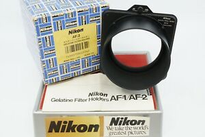 NIKON AF-2 GELATIN FILTER HOLDER FOR 72MM SIZE FILTER RINGS
