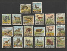 [Portugal – Angola 1953 – Animals] complete set in perfect used condition