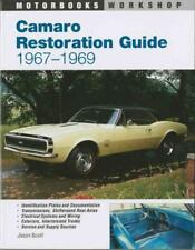 CAMARO RESTORATION GUIDE - NEW PAPERBACK BOOK