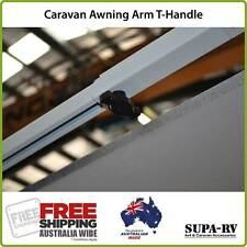 Caravan Roll Out Awning Arm Brace Knob or T-Handle Knob suits Dometic & Carefree