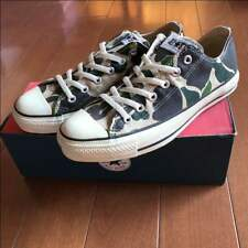Rare Converse all star camouflage Sneaker made in USA From JAPAN Free shipping