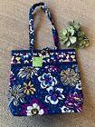 Vera-Bradley-Tote-African-Violet-Large-Tote-Shoulder-Bag-Handbag-Travel-Bag