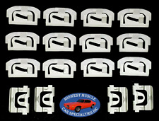 78-88 Gm G-Body Front Windshield Window Reveal Molding Trim Clips 16pcs No
