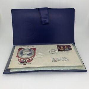 1975 $25 Dollar Sterling Silver Royal Visit Bermuda Coin w/Box + COA