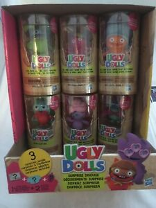 Hasbro Ugly Dolls Surprises Lot Of 6 Complete Set Sealed With Surprise Cool dude