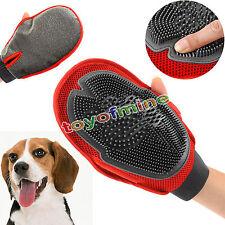 Chat chien gant brosse peigne cheveux chiot poils toilettage massage nettoyage