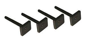4 Nutsteine M6x60mm Kopf 20x20 Dachträger Relingträger T-Nut Adapter Nutensteine