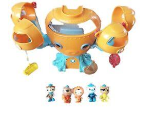 Octonauts Octopod Bundle Job Lot Toys Playset Figures