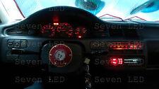RED Honda Civic EG 92-95 Gauge Cluster + Climate control LED KIT