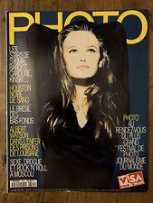 PHOTO n° 304 Sept 1993 Vanessa PARADIS Albert WATSON Agence SYGMA Raghubir SINGH