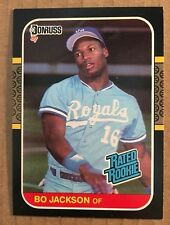 Bo Jackson 1987 Donruss #35 ROOKIE Baseball Card NM Condition Kansas City Royals